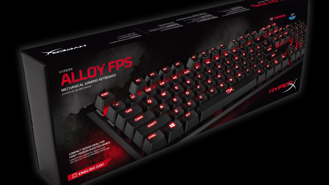 HyperX Alloy, la tastiera pensata per i giocatori di FPS thumbnail