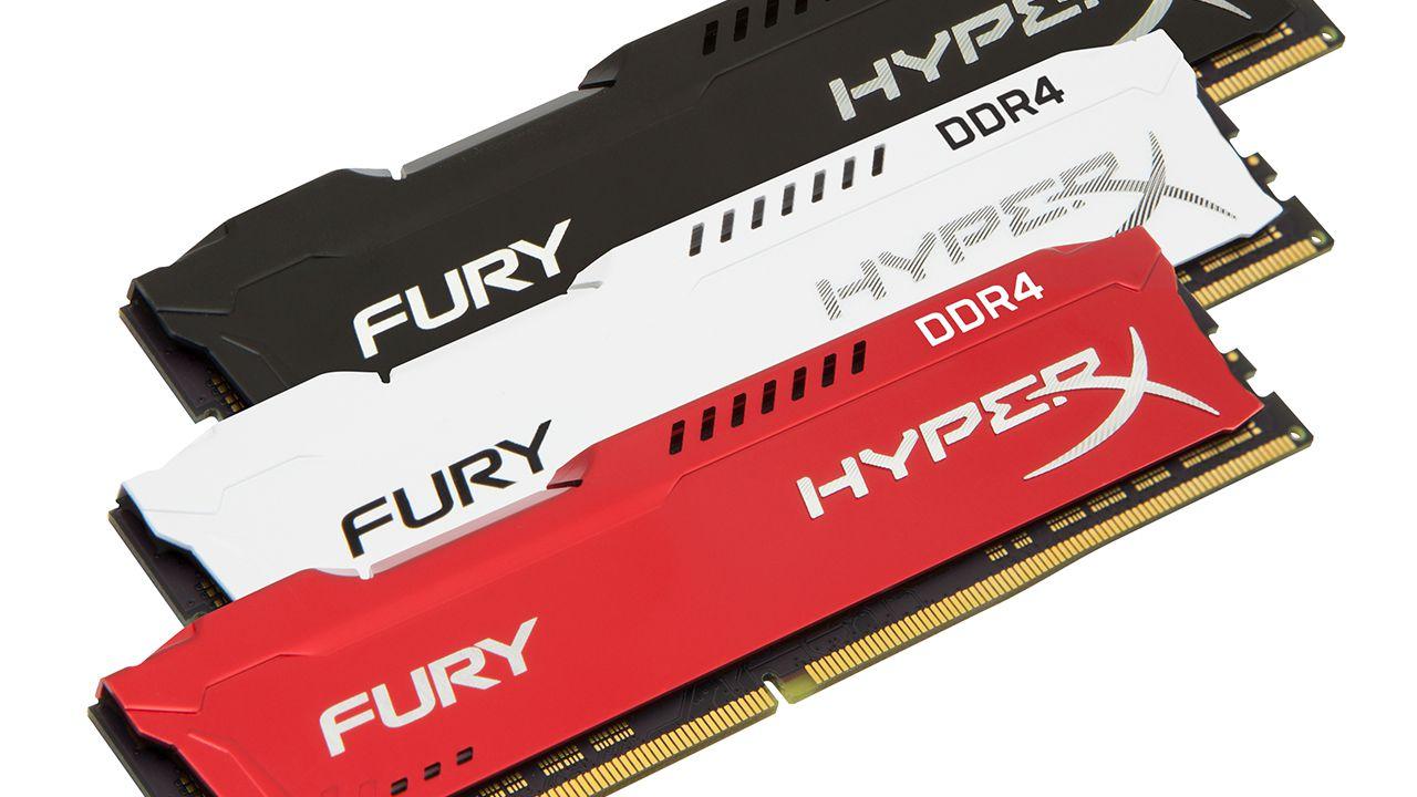 HyperX espande la linea di memorie FURY DDR4 thumbnail