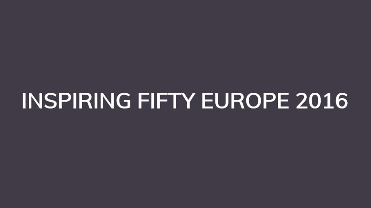 Inspiring Fifty Europe 2016:  ecco le 50 donne più influenti d'Europa in ambito tecnologico thumbnail