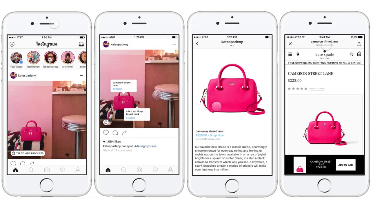Instagram Shopping sbarca anche in Italia, ecco come funziona thumbnail