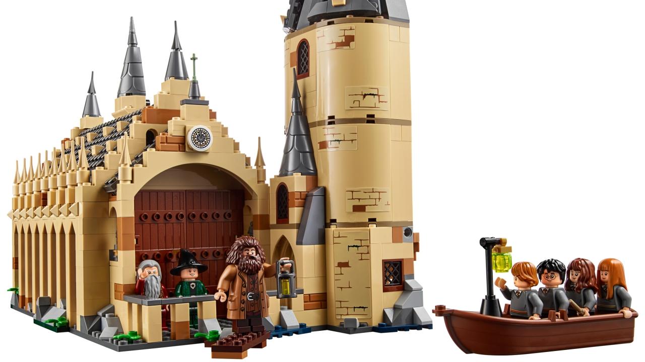 LEGO Harry Potter: ecco il nuovo set del castello di Hogwarts thumbnail
