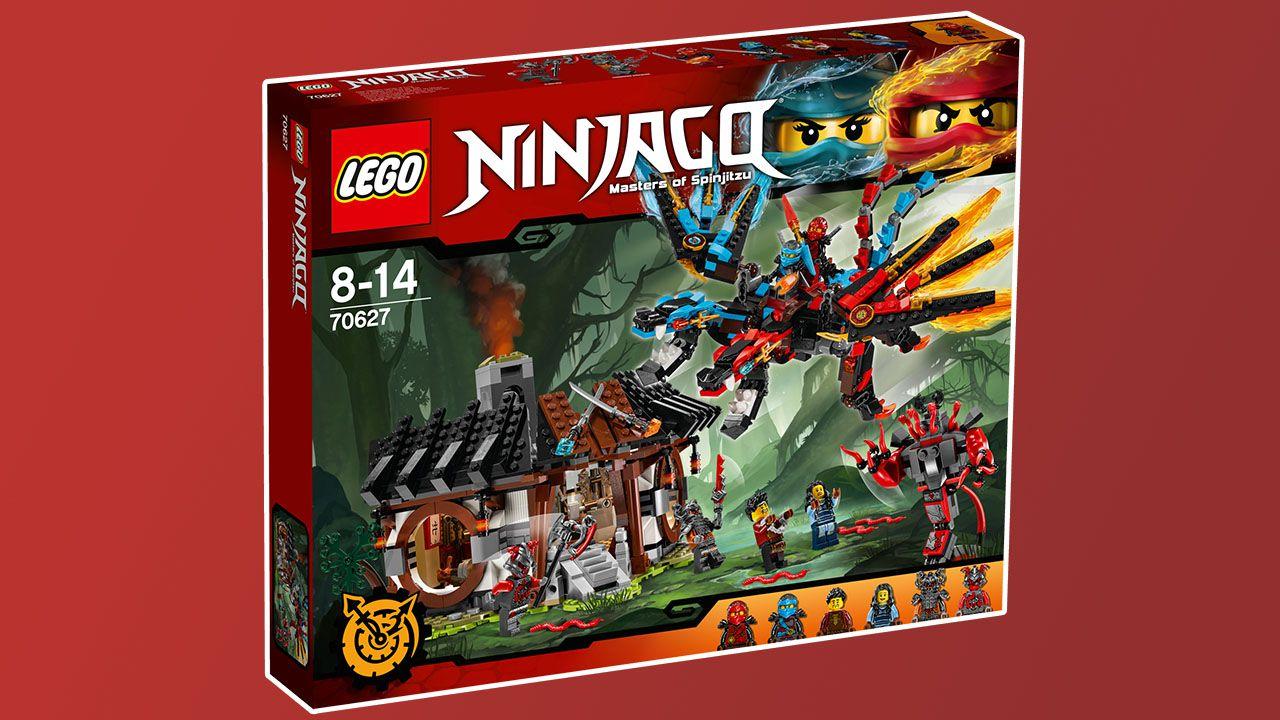 La linea LEGO Ninjago si arricchisce con nuovi set thumbnail