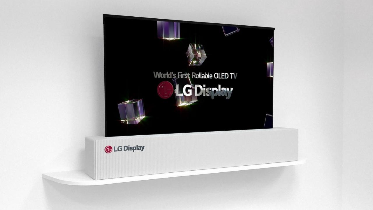 [CES 2018] LG presenta un TV OLED da 65 pollici arrotolabile thumbnail
