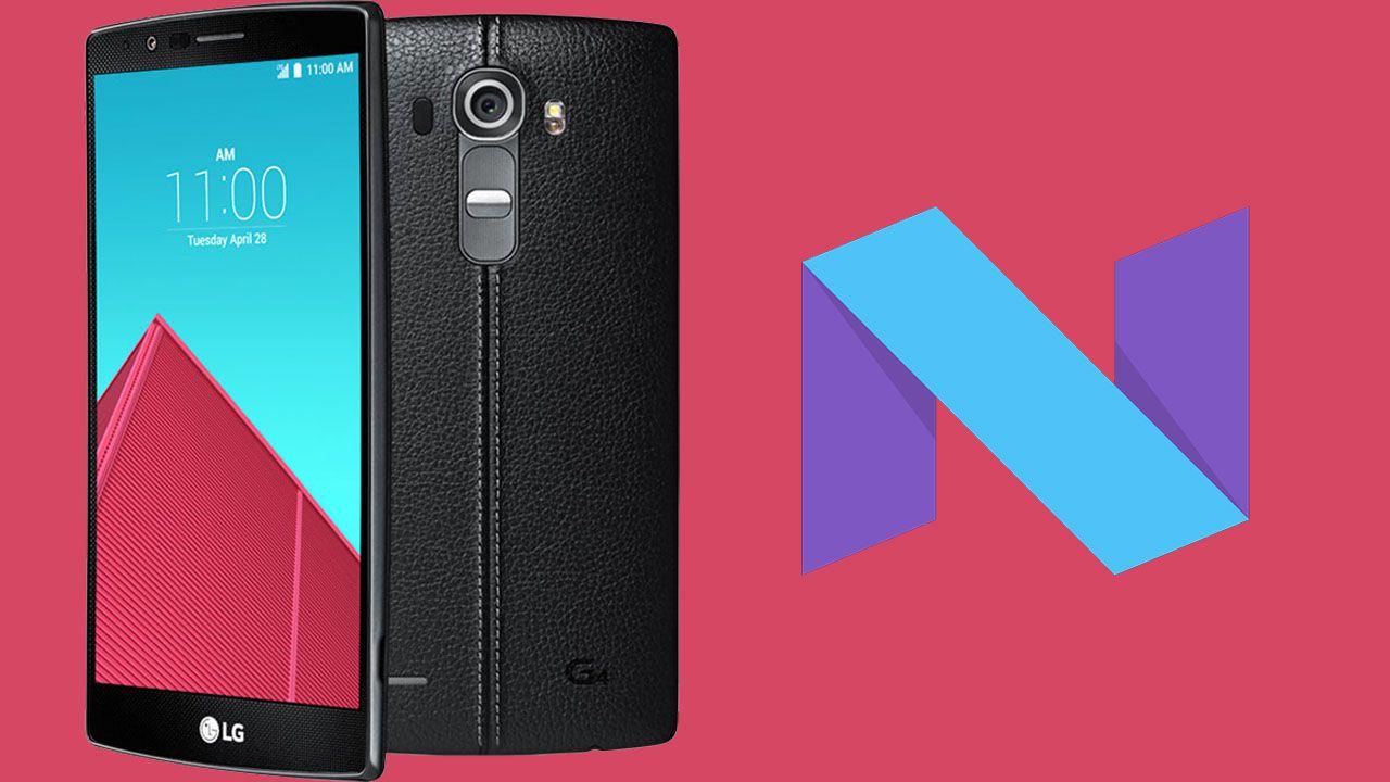 LG G4 e V10 riceveranno Android 7.0 Nougat thumbnail