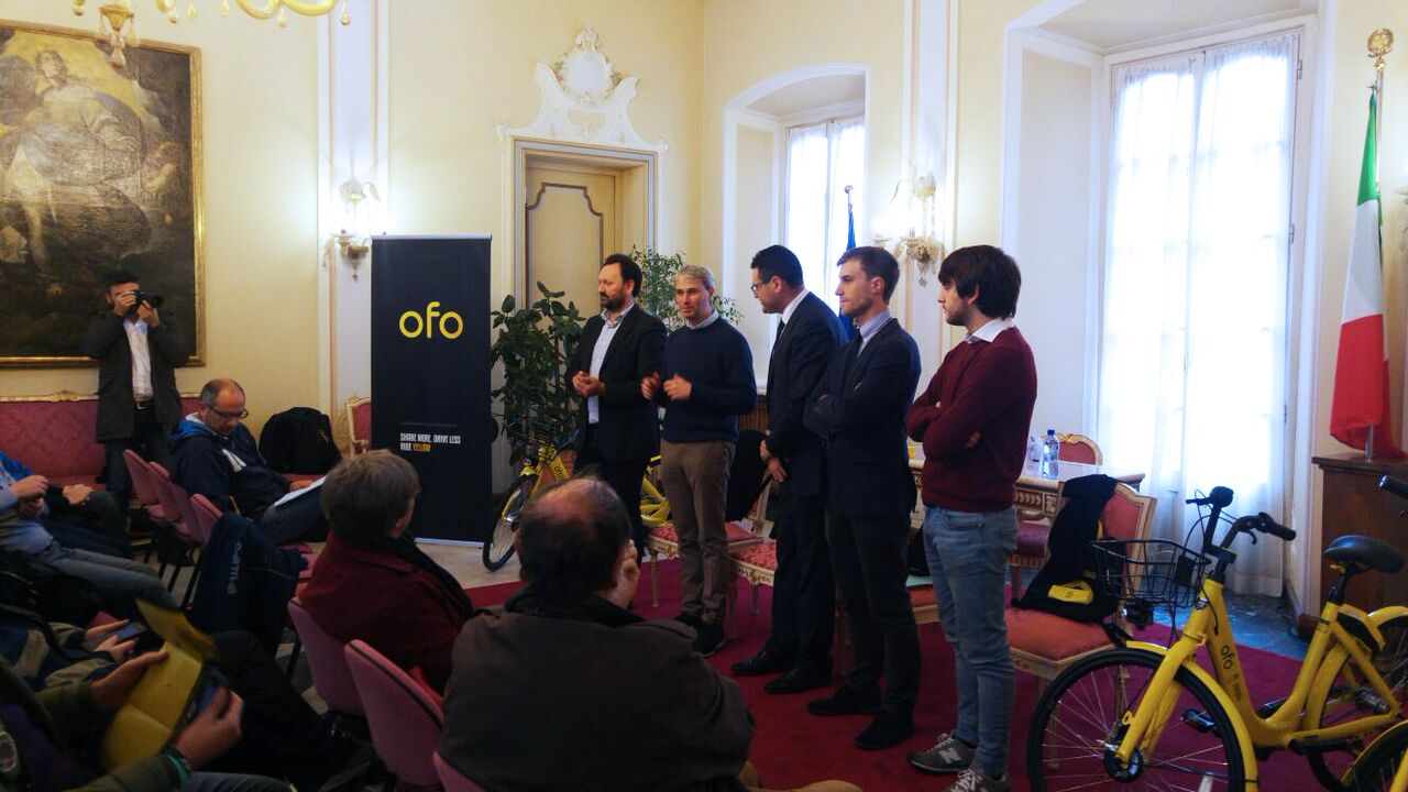 OFO: la piattaforma di bike sharing si espande a Varese thumbnail
