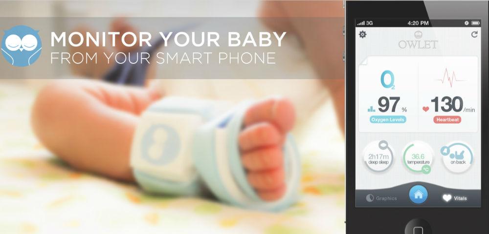 Owlet: il calzino che monitora vostro figlio tramite smartphone