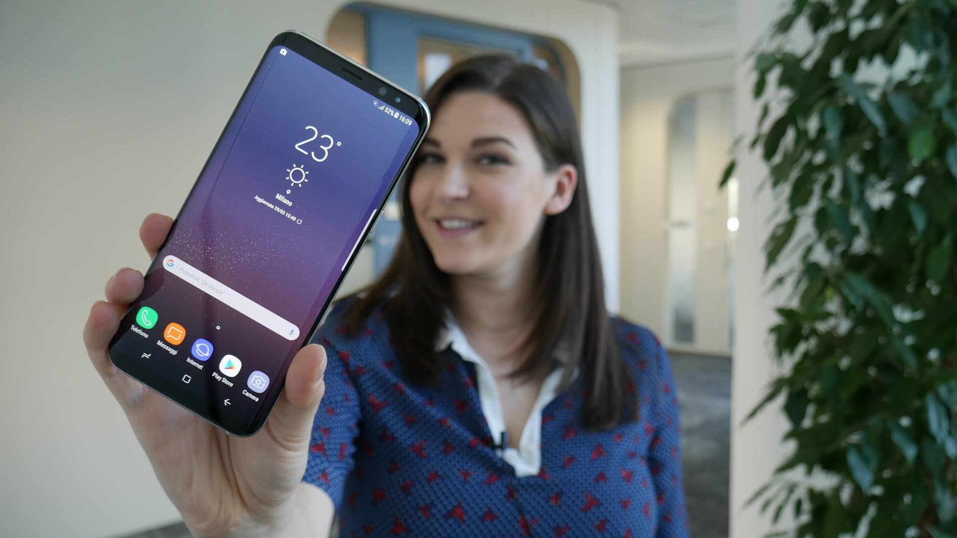 Samsung Galaxy S8: le caratteristiche del nuovo flagship phone di Samsung thumbnail