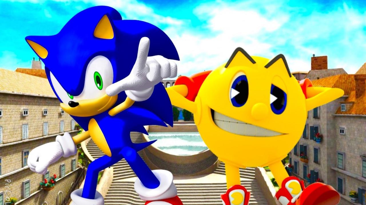 Bandai Namco: Pac-Man e Sonic uniscono le forze sui dispositivi mobile thumbnail