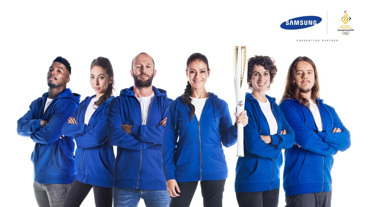 Olimpiadi PyeongChang 2018: partono dall'Italia i Tedofori di Samsung thumbnail
