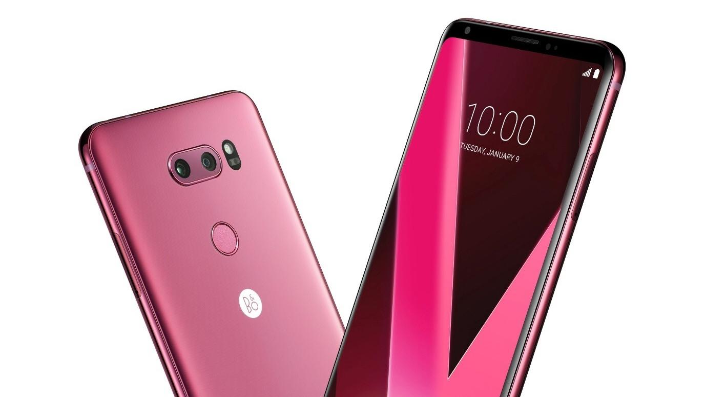 [CES 2018] LG lancia la colorazione Raspberry Rose per il V30 thumbnail