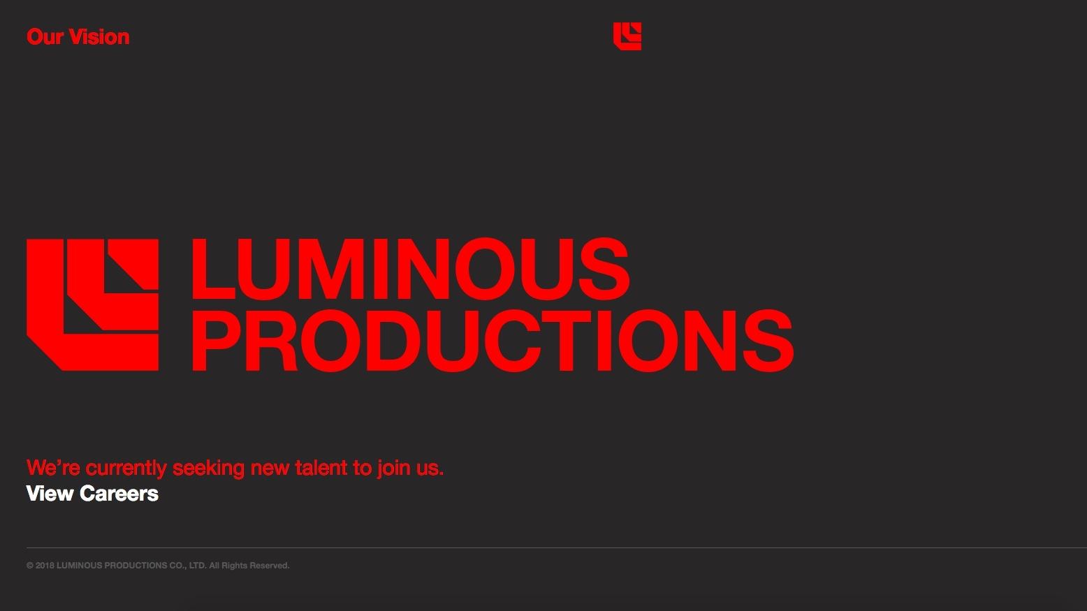 Luminous Productions: apre il nuovo studio guidato da Hajime Tabata thumbnail
