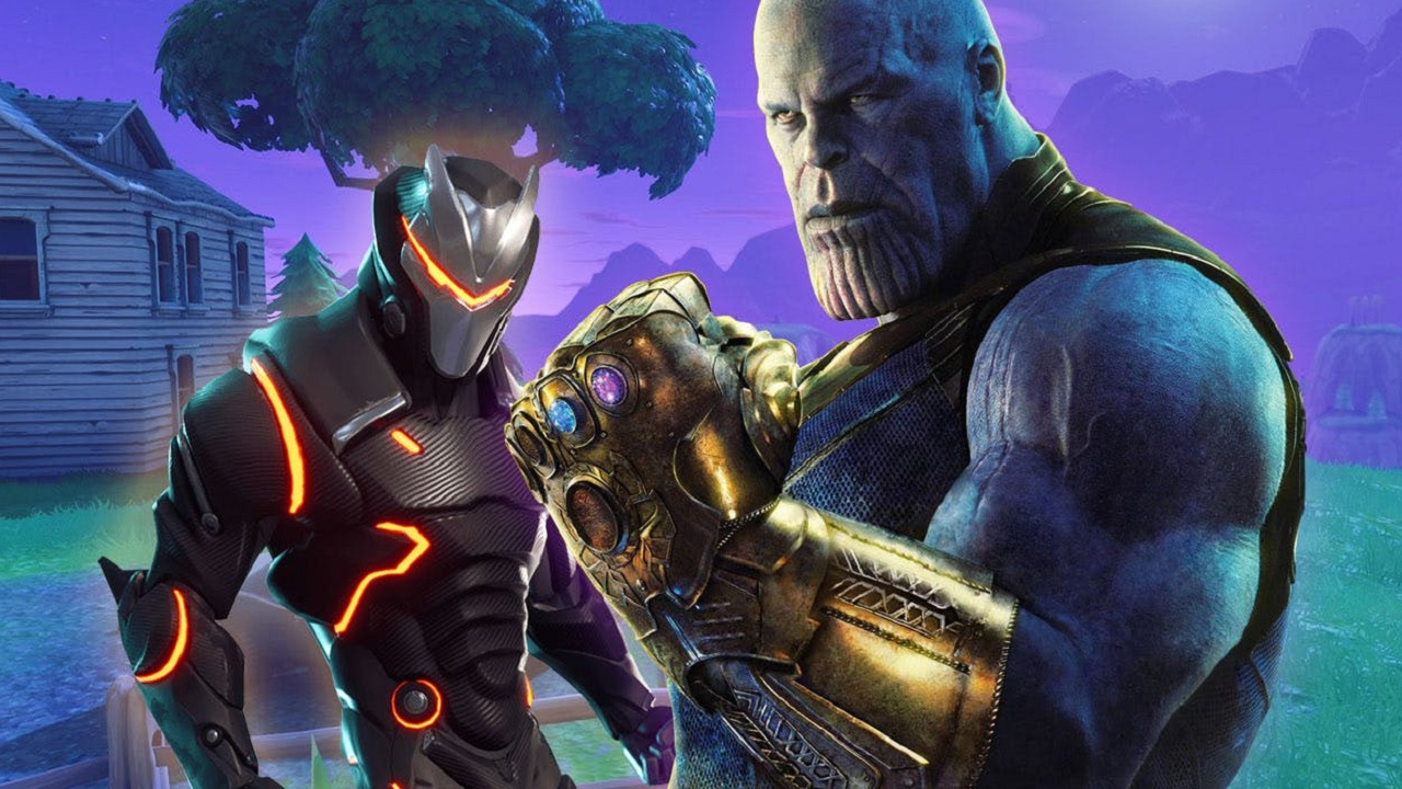 Fortnite ospita Thanos, il super-cattivo Marvel thumbnail