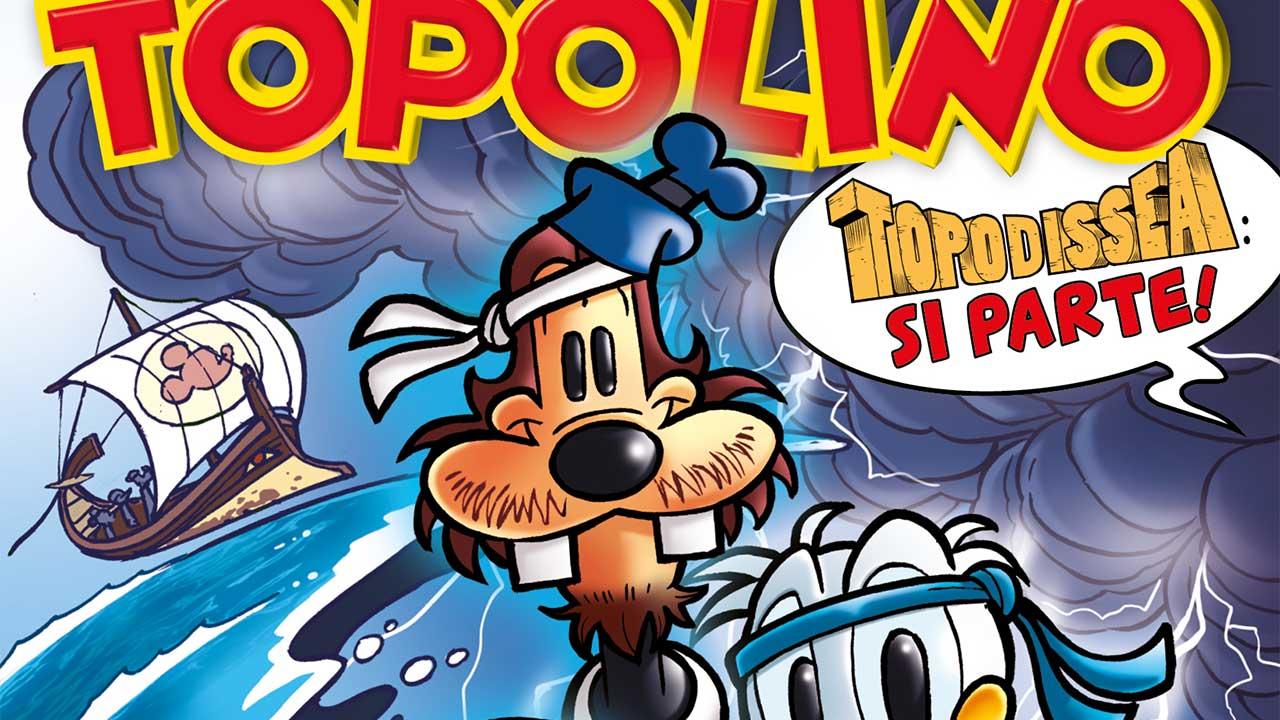Topolino: da mercoledì 8 arriva TopOdissea, la nuova parodia letteraria thumbnail