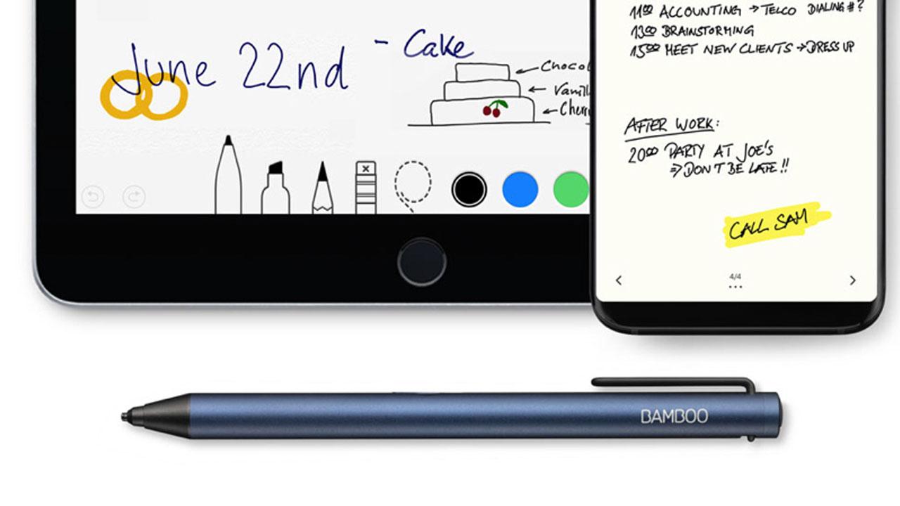 Wacom Bamboo Tip, la nuova penna digitale per smartphone e tablet thumbnail