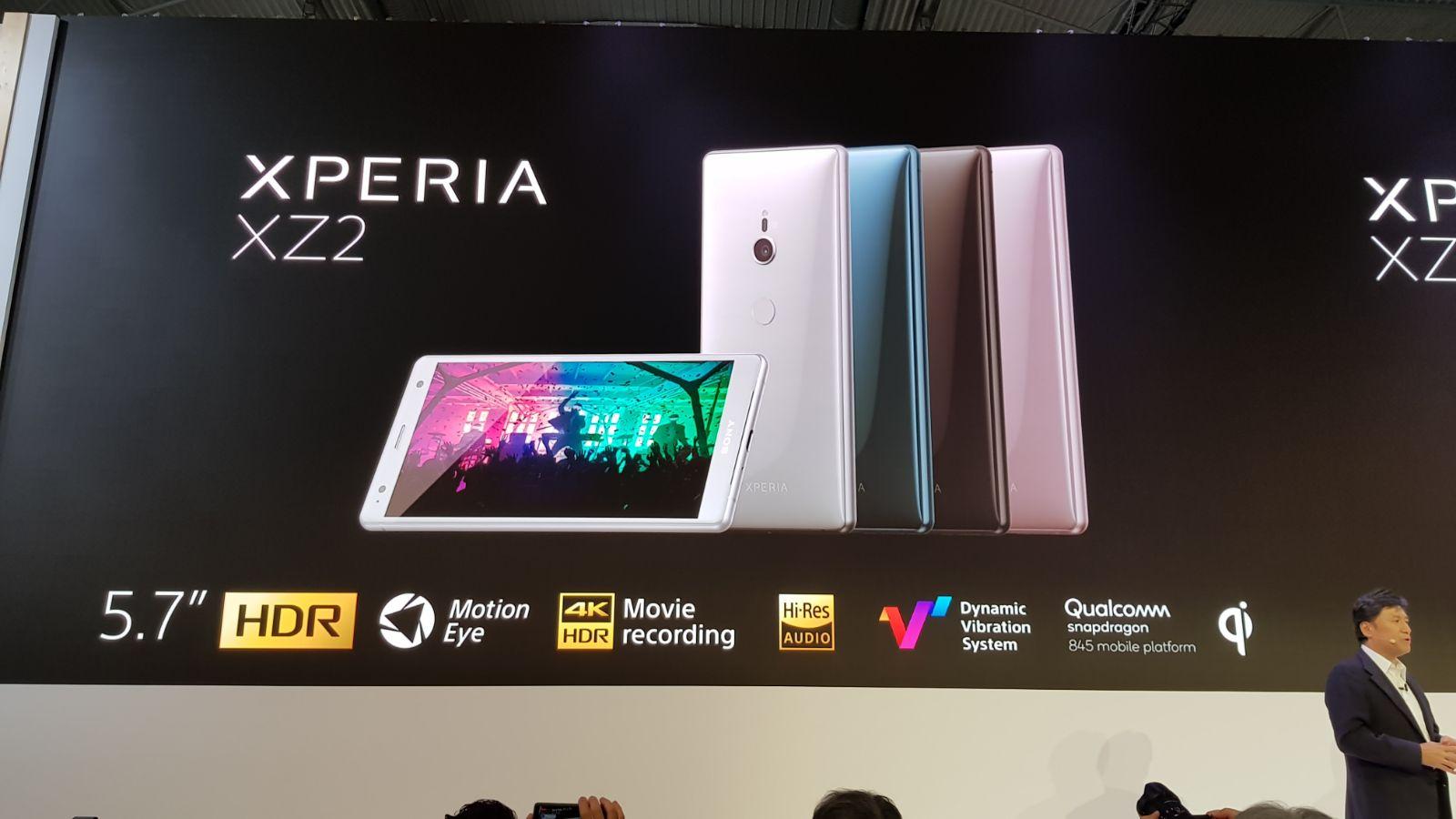 Sony presenta Xperia XZ2 e XZ2 Compact | MWC 2018 thumbnail