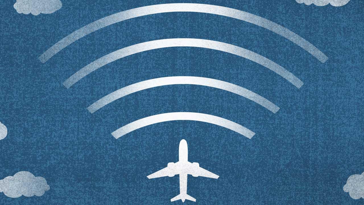 Wi-Fi in volo: quanto pagano gli italiani per utilizzarlo? thumbnail