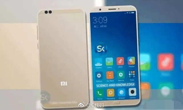 Xiaomi Mi6C, soc proprietario e display 18:9: nuove immagini thumbnail