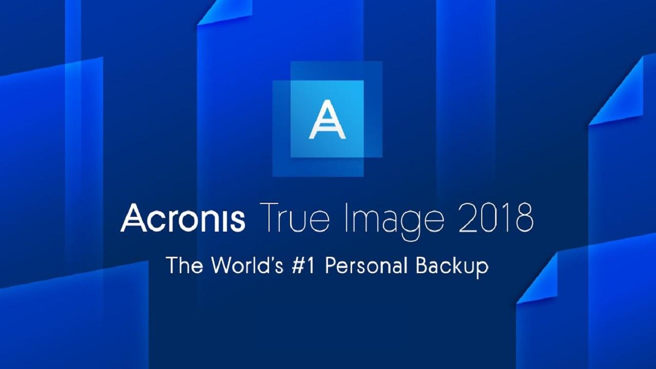 Acronis True Image 2018, il software basato su IA che protegge i vostri dati thumbnail