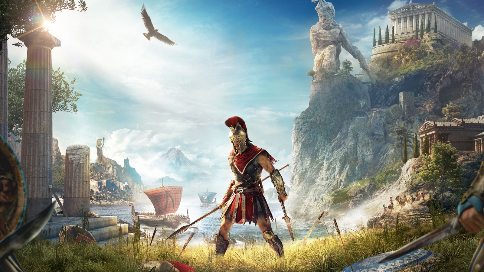 Assassin's Creed Odyssey, il primo incontro ravvicinato all'E3 2018 thumbnail