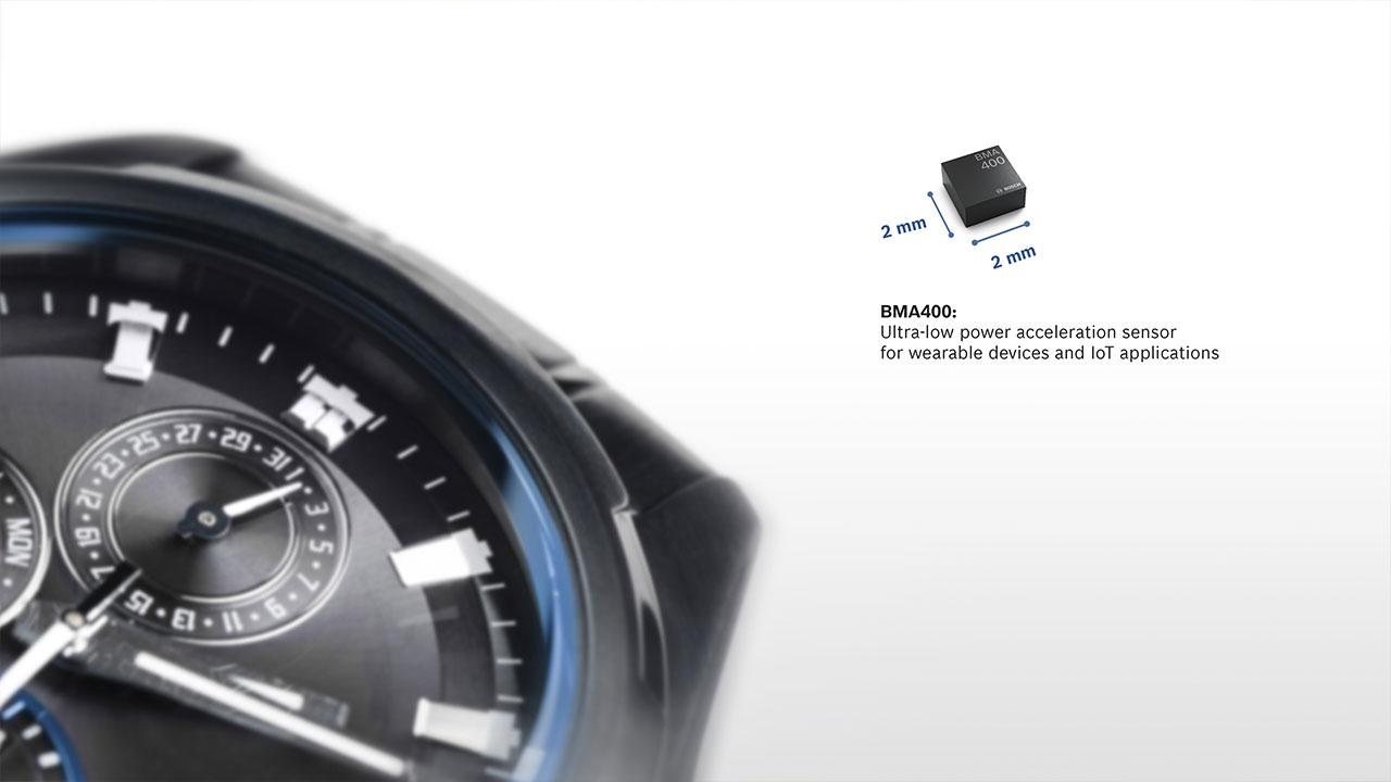 [CES 2018] BMA400, l'accelerometro a bassa potenza di Bosch thumbnail