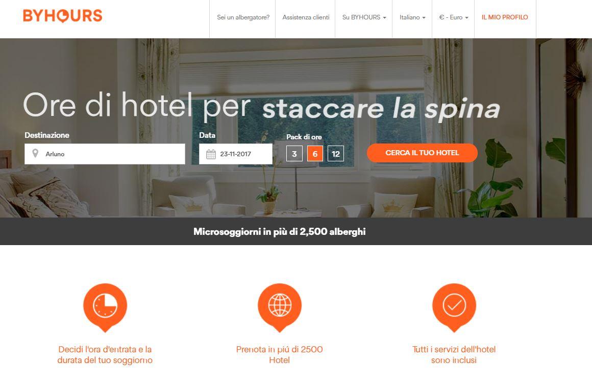 """BYHOURS: alloggiare in hotel pagando solo le ore che """"consumi"""" thumbnail"""