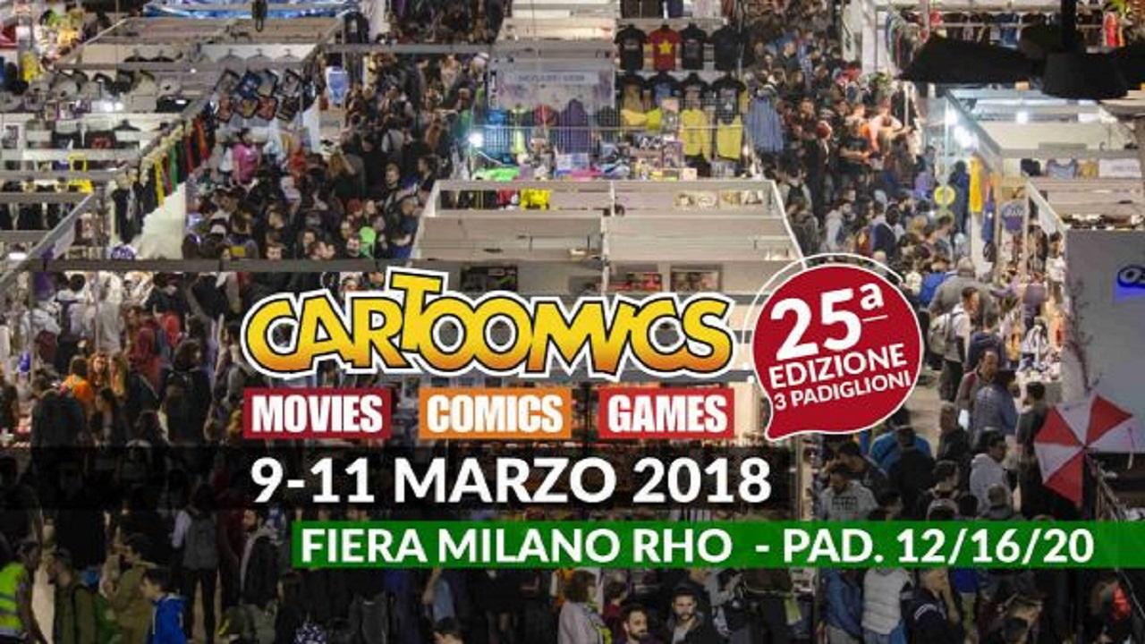 Cartoomics 2018: il successo della 25° edizione thumbnail