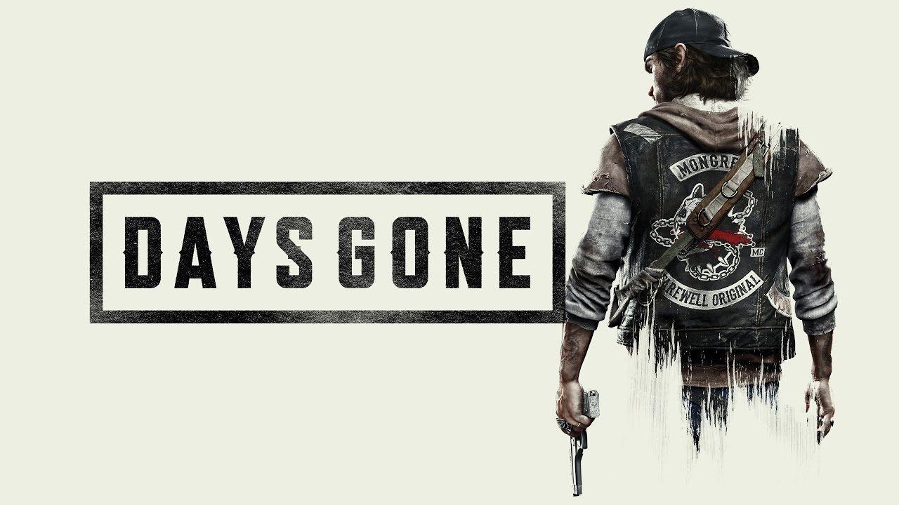 days gone logo ps4 e3 2018
