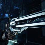 Nero con la pistola Blue Rose