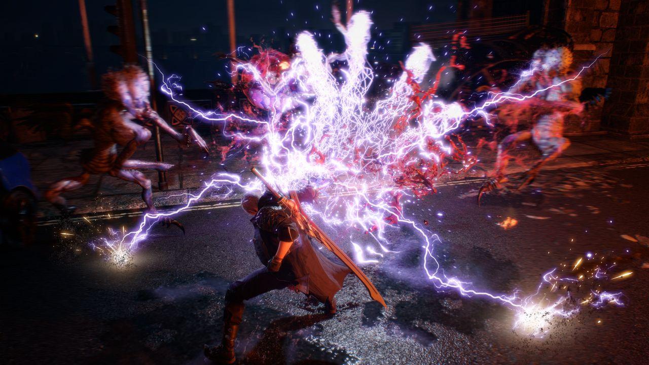 Nero usa il Devil Breaker