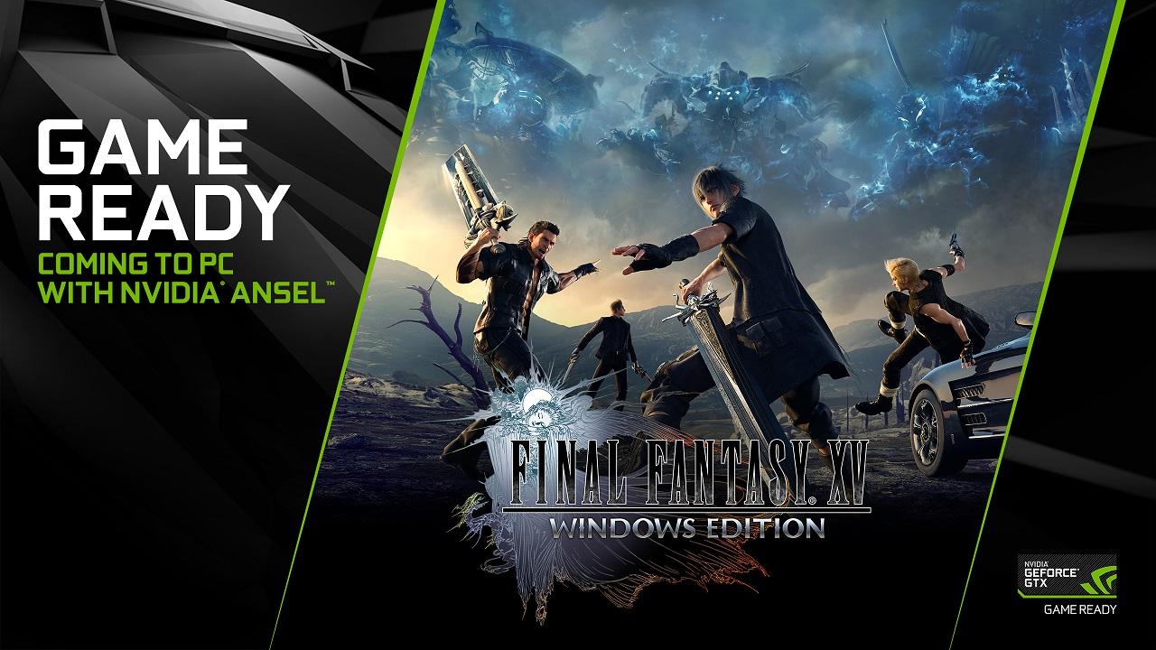 NVIDIA rende disponibili i driver Game Ready per Final Fantasy XV Windows Edition thumbnail