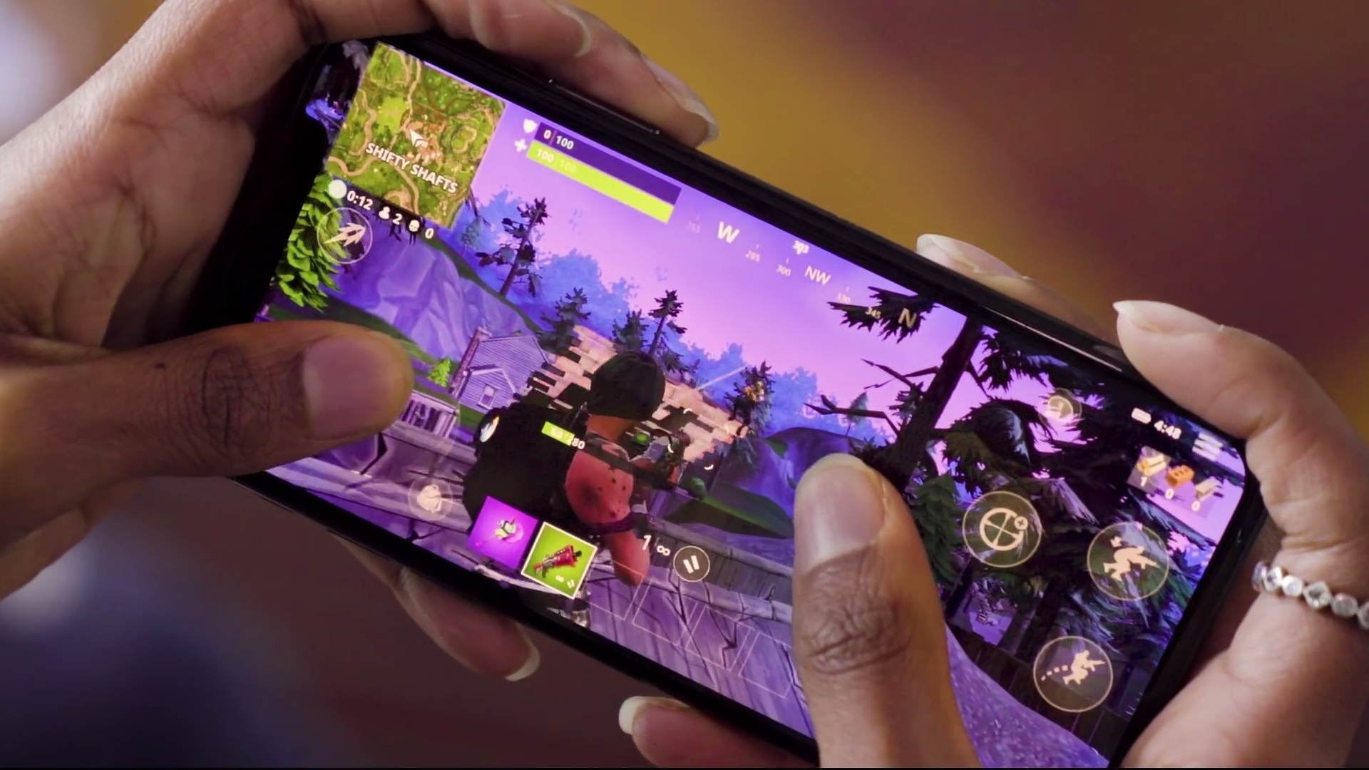 fortnite mobile android fake app