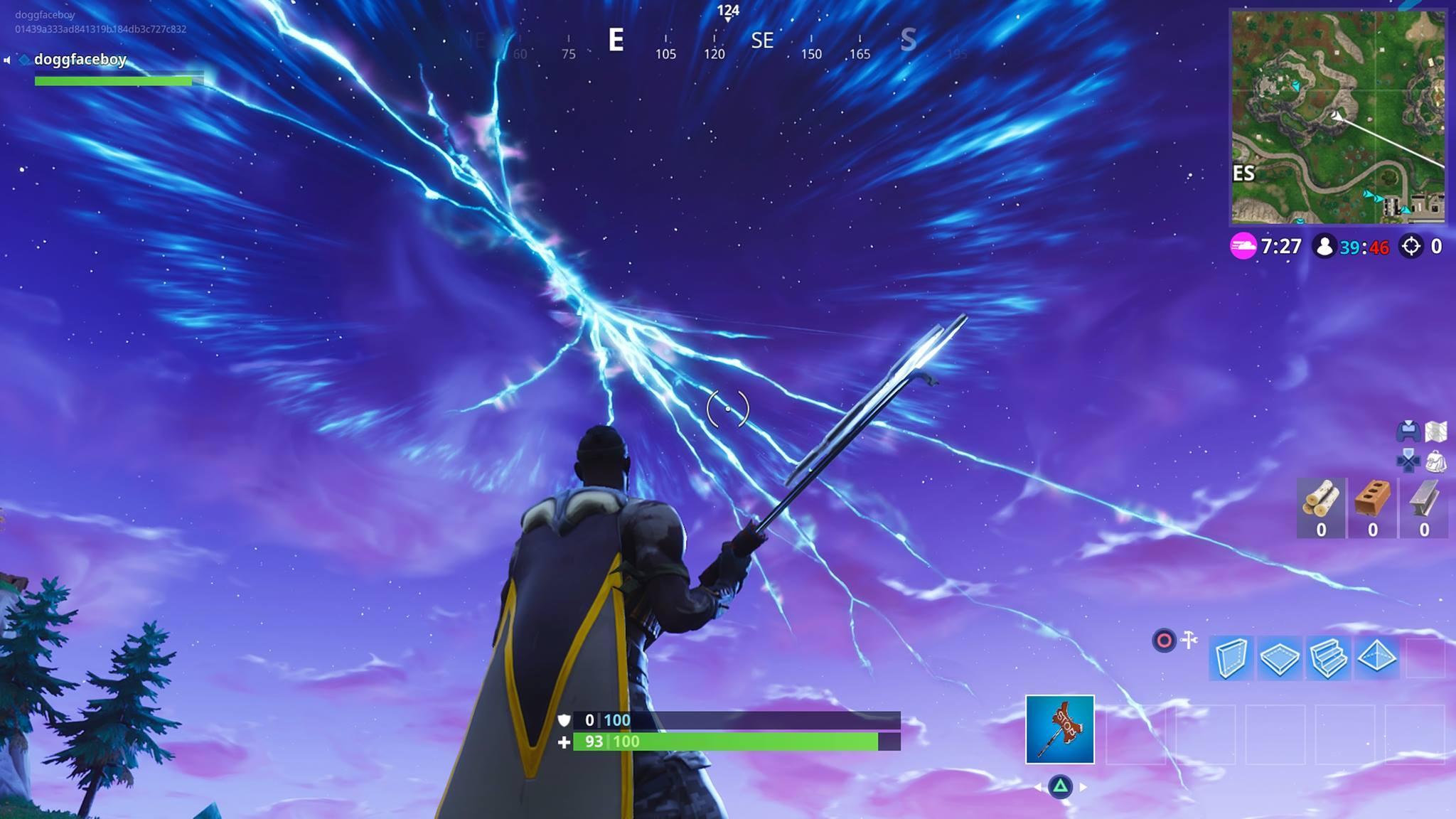 Fortnite: i giocatori assistono al lancio del razzo, ma non tutti thumbnail