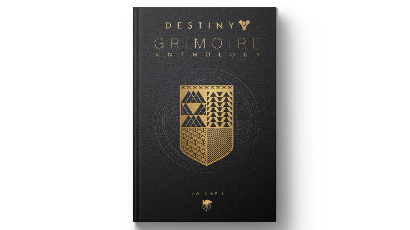 destiny grimoire anthology bungie activision blizzard entertainment book