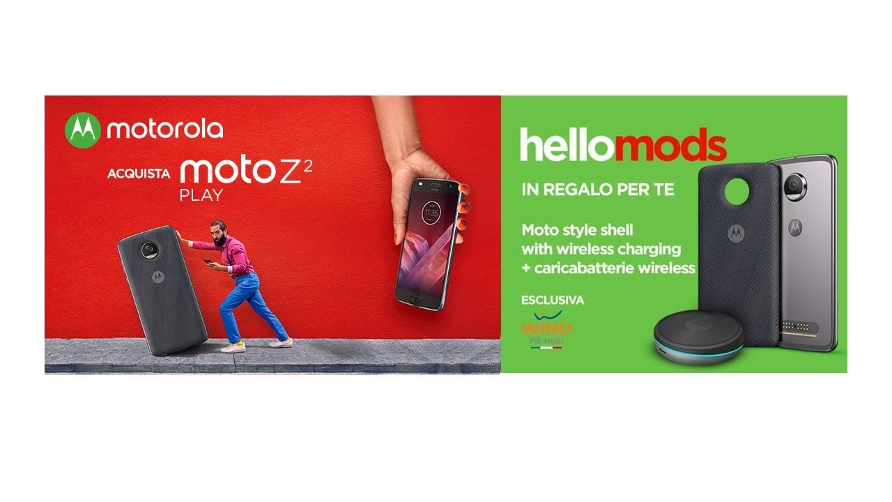 Motorola lancia la campagna HelloMods thumbnail