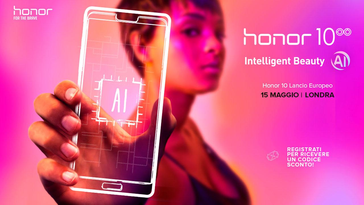 Honor 10 scontato per chi si iscrive su HiHonor thumbnail