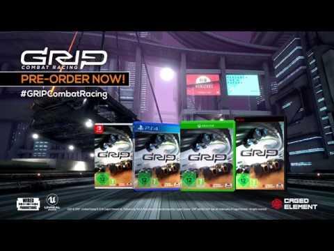 GRIP: Combat Racing in arrivo a novembre su console e PC thumbnail