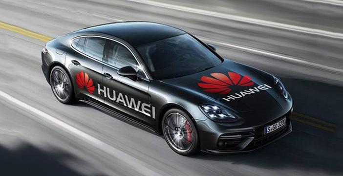 """Siamo salite a bordo di una Porsche Panamera """"guidata"""" da un Huawei Mate 10 PRO thumbnail"""