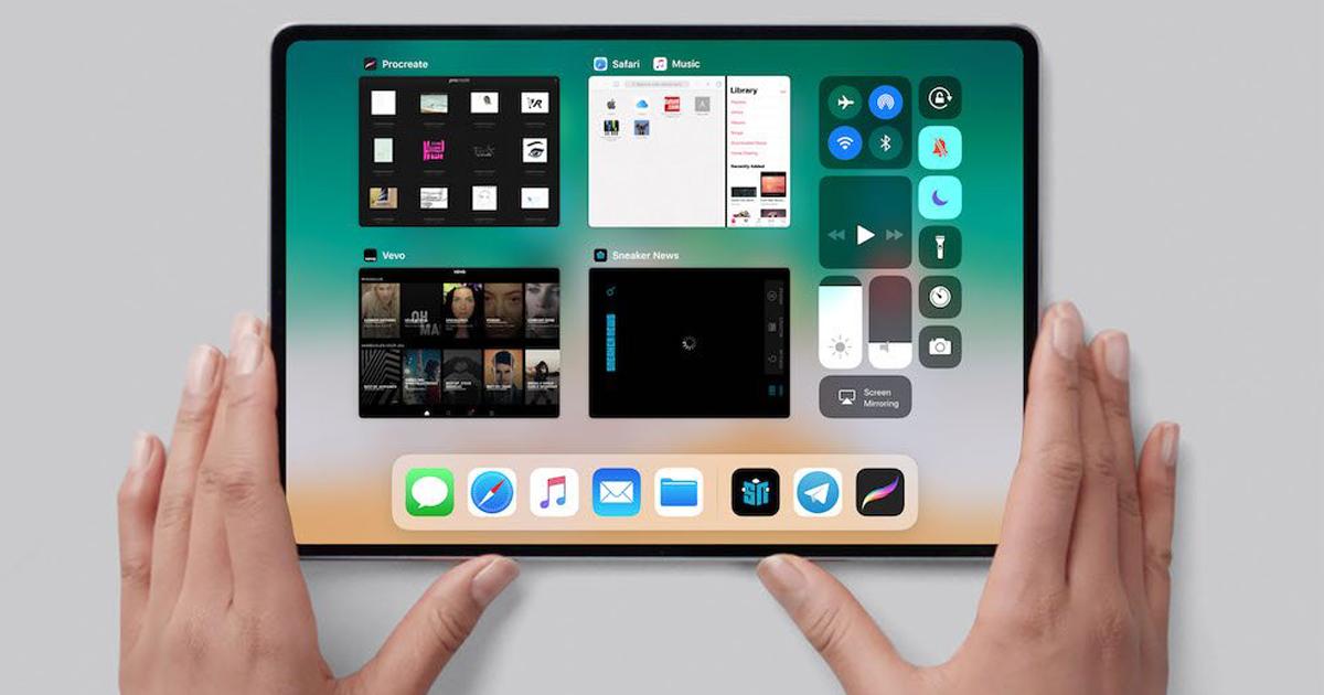 iPad Pro 2018: potrebbe essere in arrivo un iPhone X gigante thumbnail
