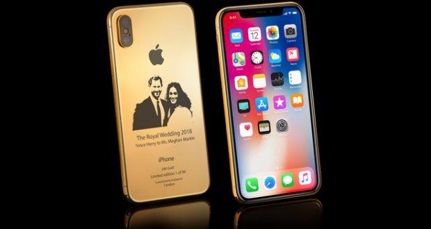 Dettagli sul nuovo iPhone X in oro versione Royal Wedding thumbnail