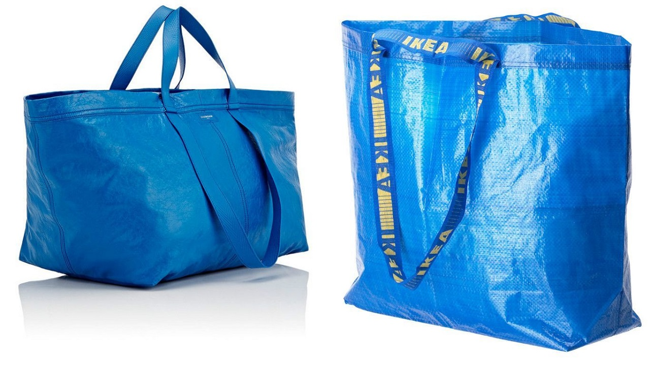 "La borsa blu di Ikea ""ispira"" l'alta moda di Balenciaga thumbnail"