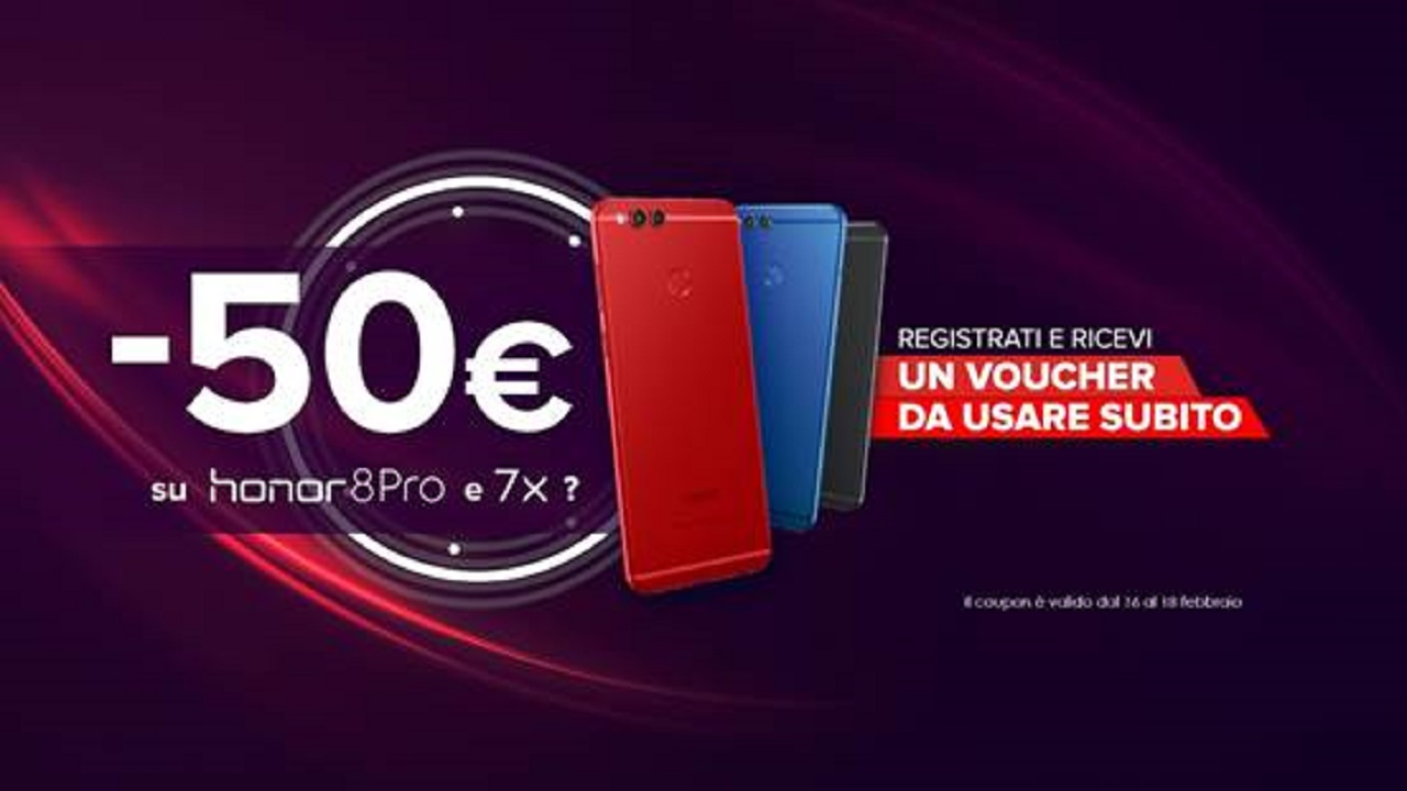 Honor 7X e 8 Pro disponibili nel sito e-commerce ufficiale del brand thumbnail
