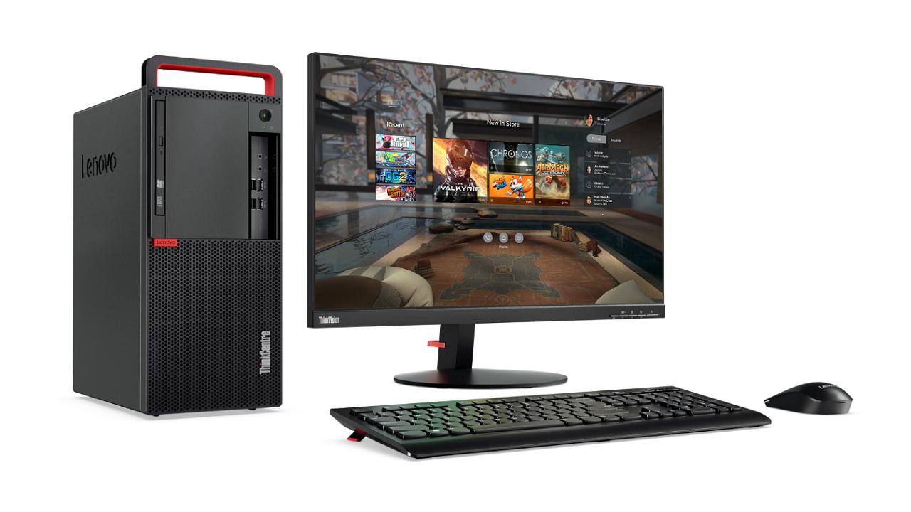 Lenovo ThinkCentre M910t: il primo PC desktop professionale al mondo con certificazione Oculus-Ready thumbnail