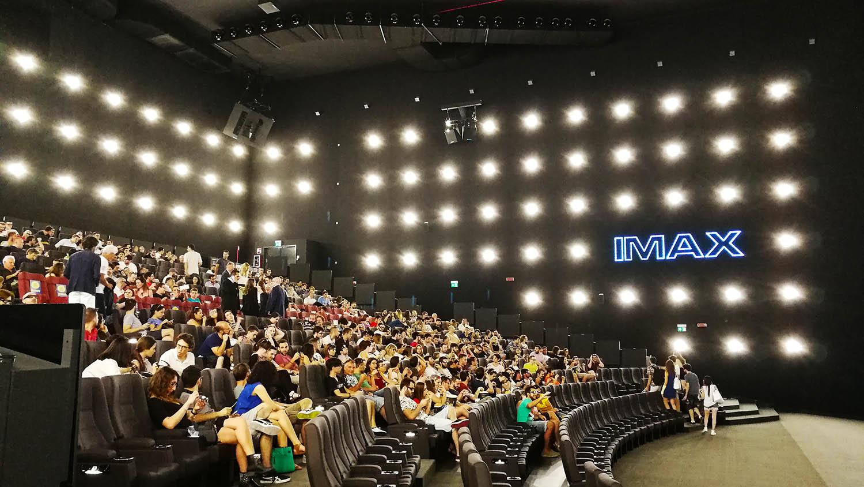 IMAX: apre a Orio al Serio la sala cinema più tecnologica thumbnail