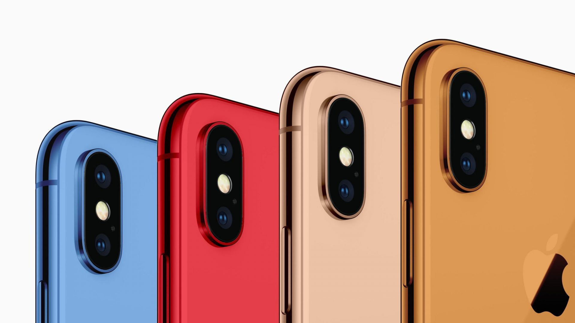 iphone 2018 colors colorazioni gold red grey oled
