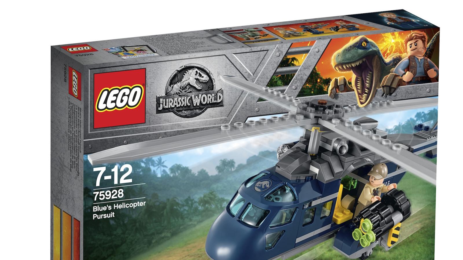 LEGO lancia i nuovi set dedicati a Jurassic World: Il regno distrutto thumbnail