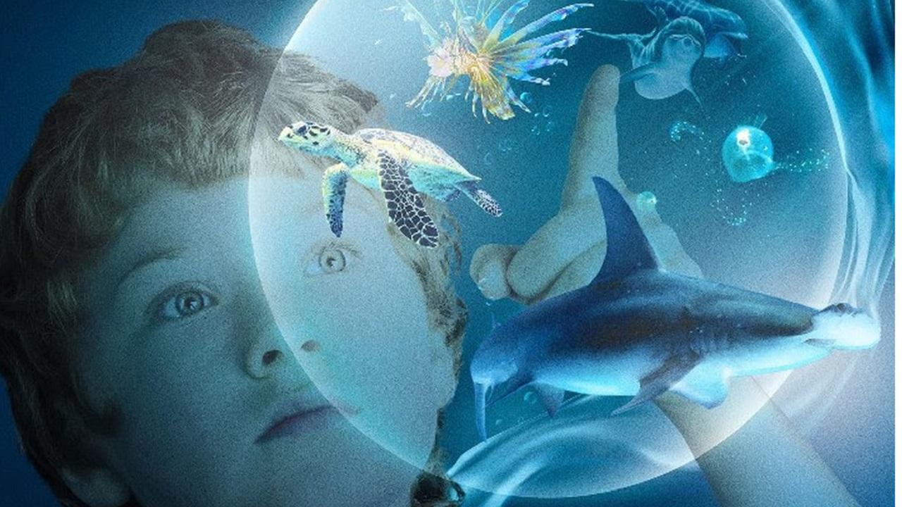 "Al cinema ""Le meraviglie del mare"" con Arnold Schwarzenegger thumbnail"