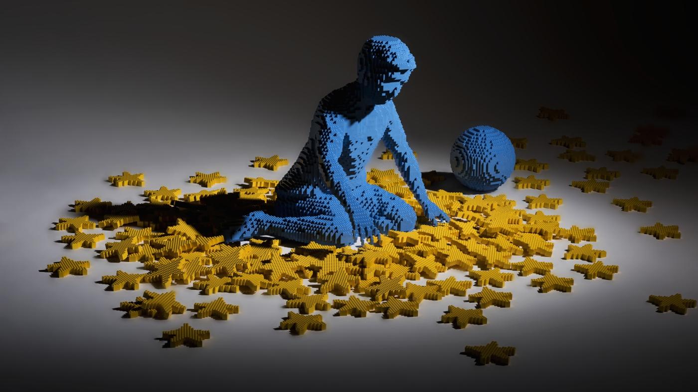 LEGO, a Milano la mostra 'Potere ai Piccoli' di Riccardo Zangelmi thumbnail