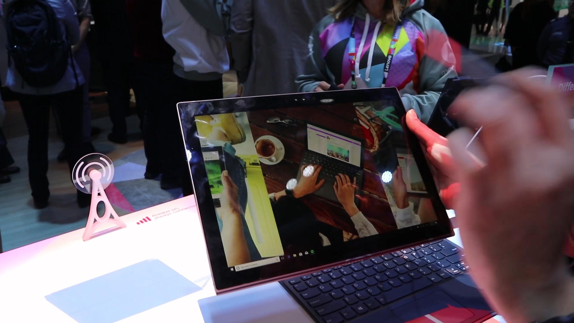Lenovo Miix 630, il convertibile con Snapdragon 835 – anteprima dal MWC 2018 thumbnail