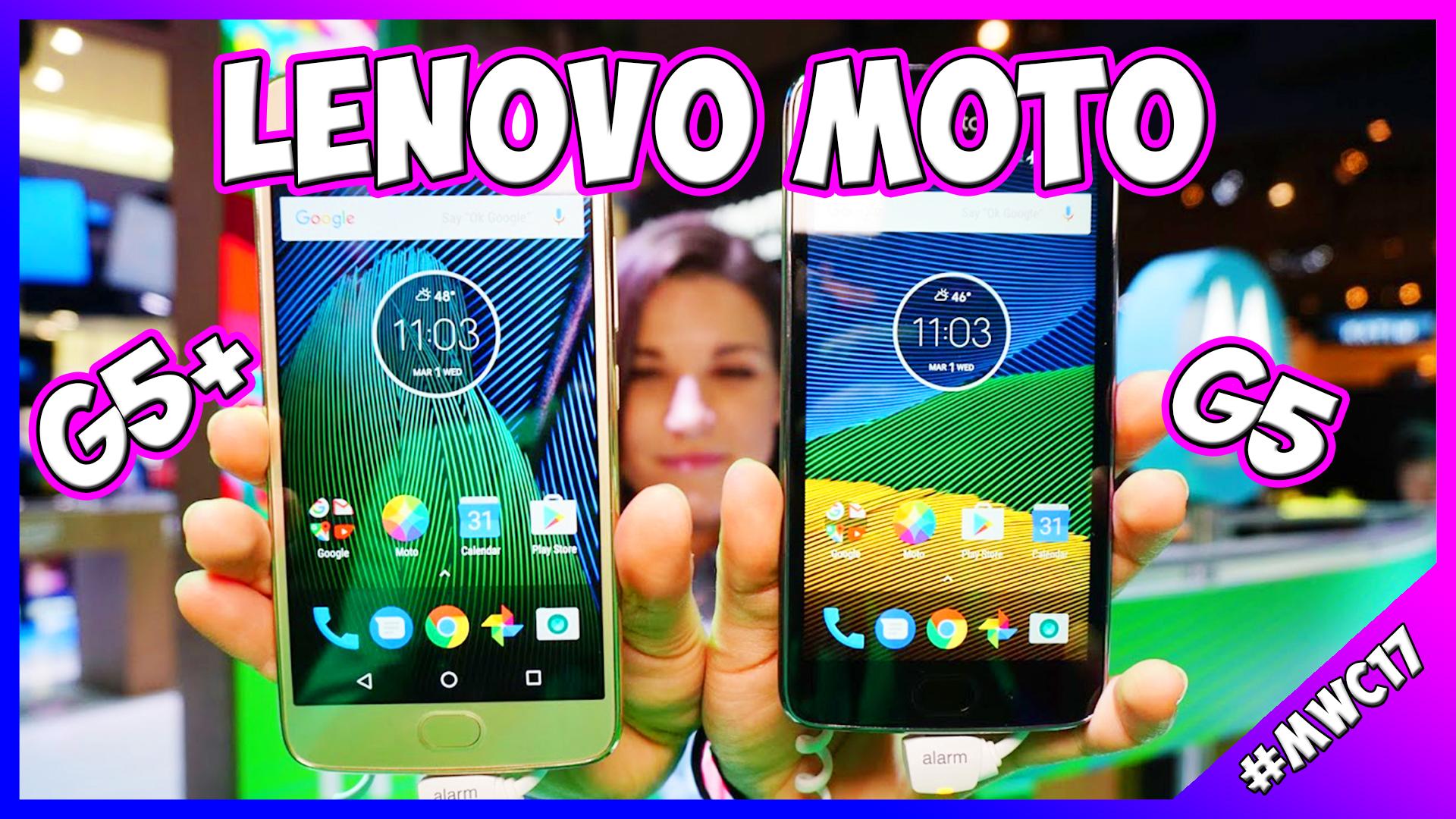 [MWC 2017] Lenovo Moto G5 e Moto G5 Plus: prime impressioni thumbnail