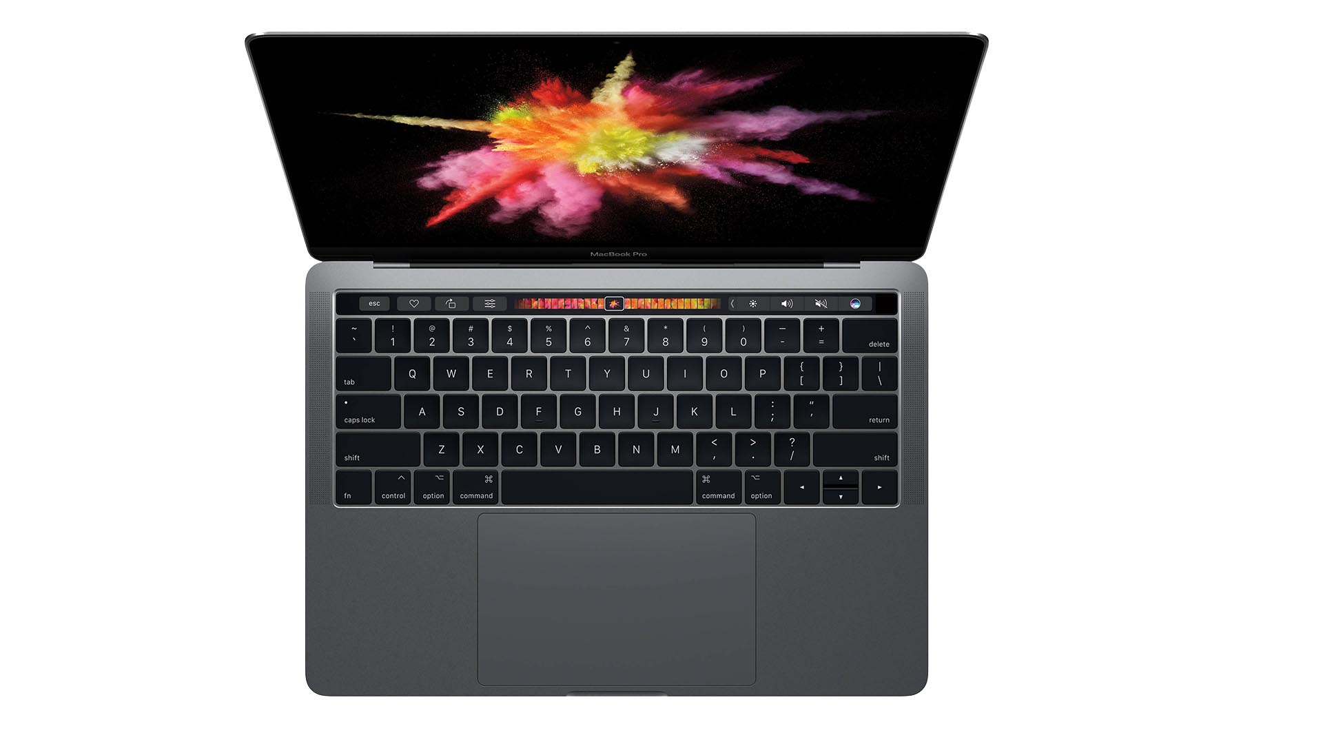 MacBook Pro: Apple brevetta una tastiera virtuale OLED touchscreen thumbnail